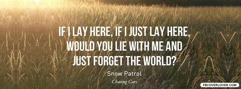 text chasing cars